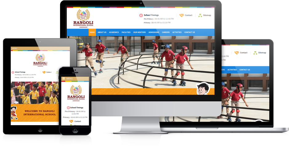 Best School Website Design, Website Development India |