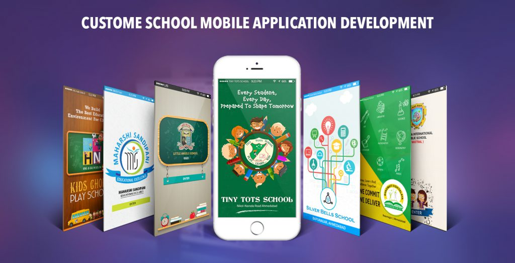 Custome School Mobile Application Development