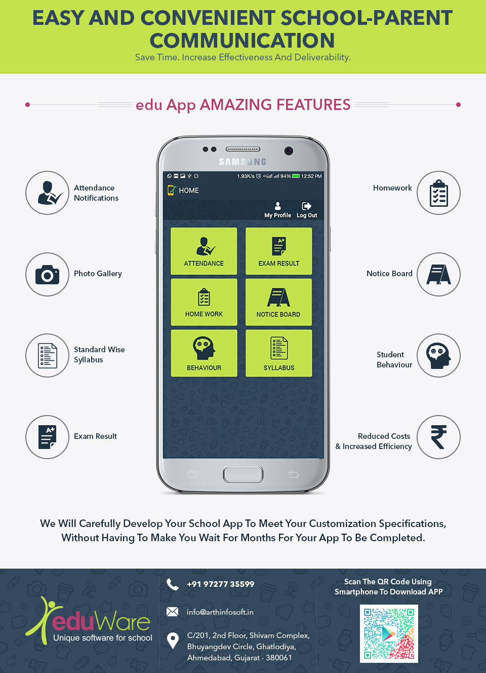 eduapp a perfect communication app between school and parent